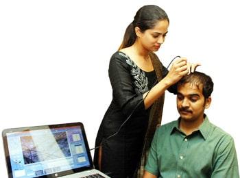 Pandit Clinic Hair analysis Caslite