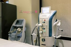 Pandit clinic Lightesheer duet laser machine
