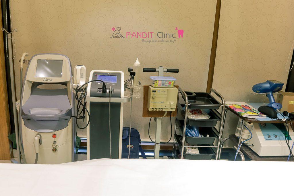 Pandit clinic aluma machine setup-click-1