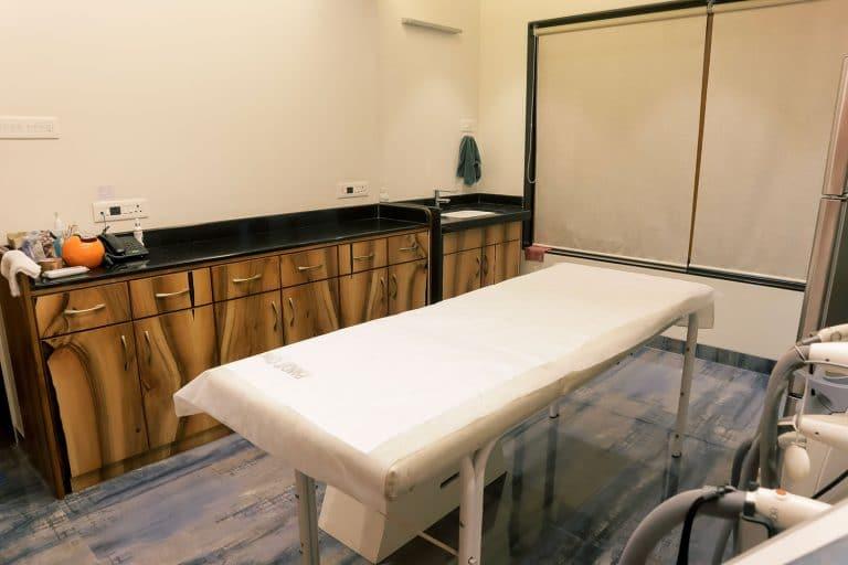 Pandit clinic Patient Checkup Room