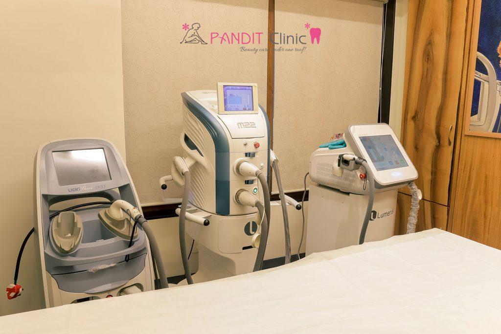 Pandit clinic setup m22 & lumenis machines
