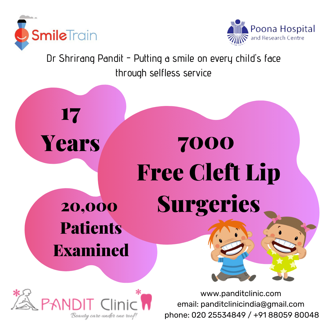 Smile Train In Pune –  Correcting Facial Cleft