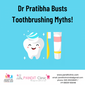 Tooth brushing myths busted
