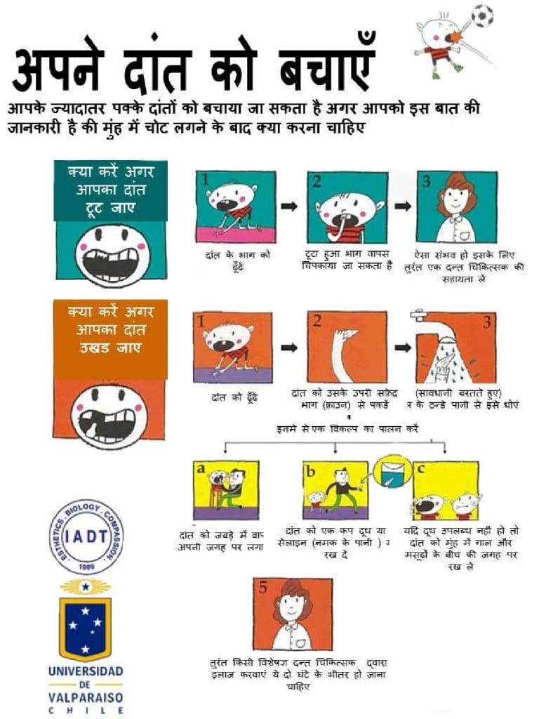 save your tooth - hindi