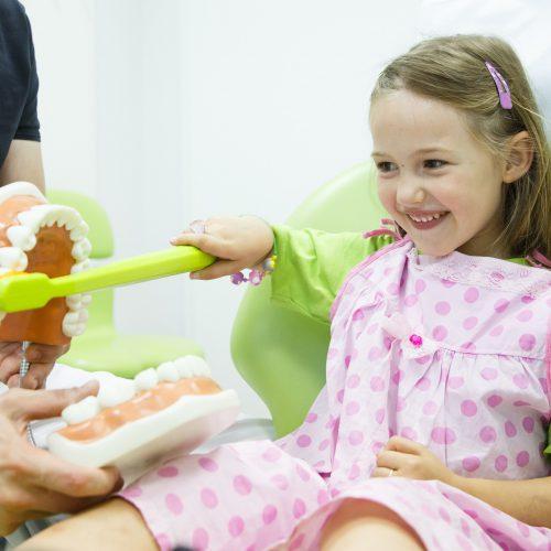 Pandit Clinic Child's First Dental Visit